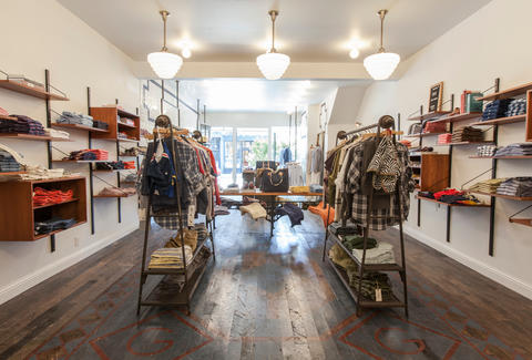 Gant Rugger-Store Interior-San Francisco