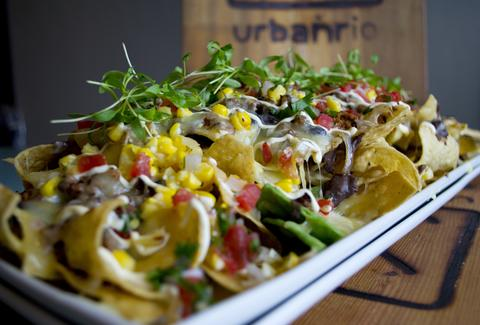 Nachos at Urban Rio