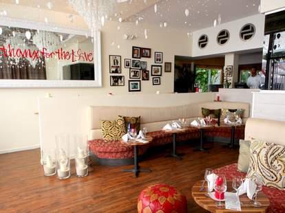 Interior of Barock Miami
