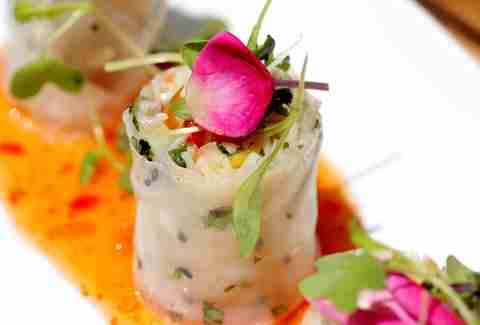 Rice paper spring roll at Barock Miami
