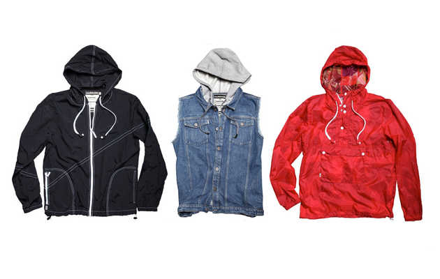 A fresh crop of hoodies, jackets, and tanks with built-in earbuds