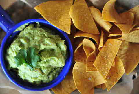 Guacamole at Mr Mesero