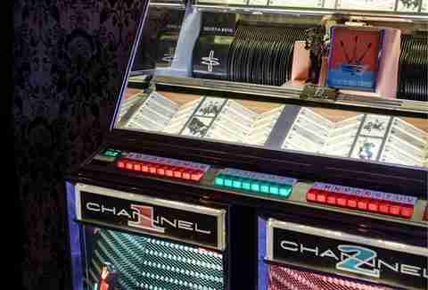 Park on Fremont Las Vegas -- jukebox