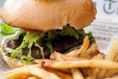 Park on Fremont Las Vegas -- Stuffed Burger