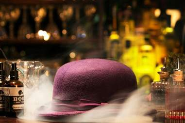 the concealed tophat & tails at Reason & Mankind