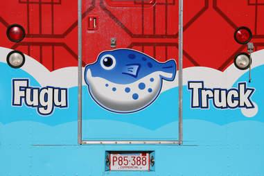 Back of Fugu Food Truck