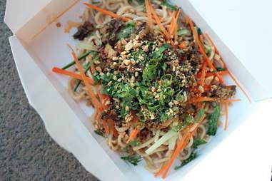 Fugu Food Truck's Seasame Noodles