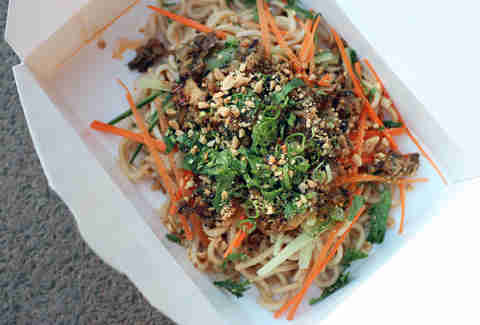 Fugu Food Truck's Seasame Noodles