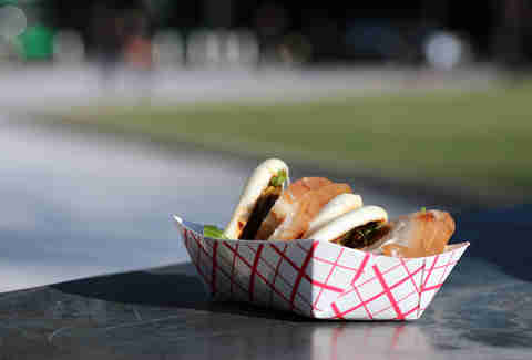 Fugu Food Truck's Grilled Pork Belly Buns