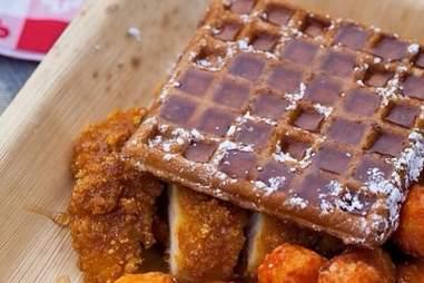 Park on Fremont Las Vegas -- Chicken Waffle Sandwich