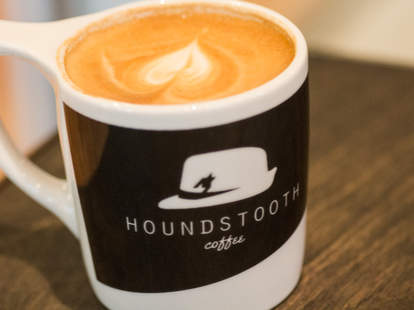 Coffee from Houndstooth Downtown