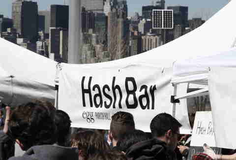 Hash Bar at Smorgasburg