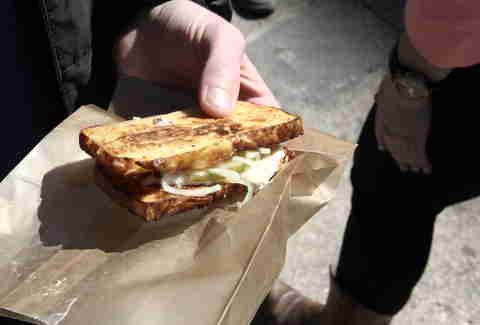 Kugel Double Down from Scharf and Zoyer at Smorgasburg