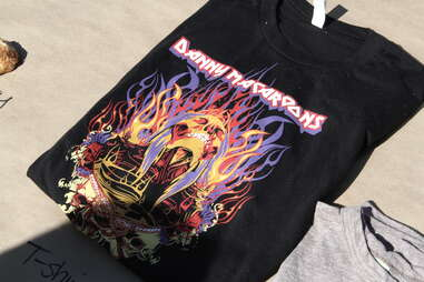 Danny Macaroons badass t-shirt at Smorgasburg