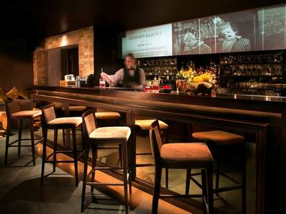 The bar at Libertine