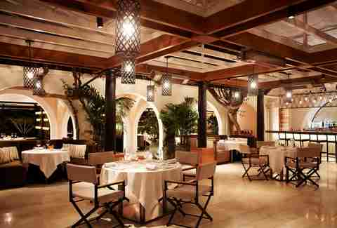 Interior of Wolfgang Puck at Hotel Bel-Air
