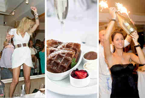 Party Brunch at Bagatelle LA