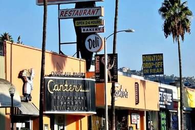 Canter's Deli in LA