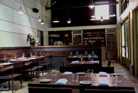 Tables at Central Kitchen