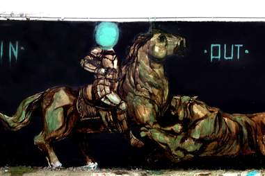 Graffitti at Cambalache