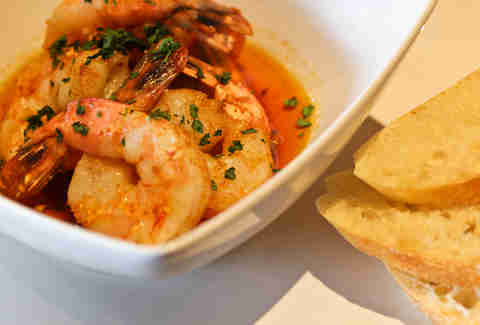 Volare Bistro - Garlic Shrimp small plate