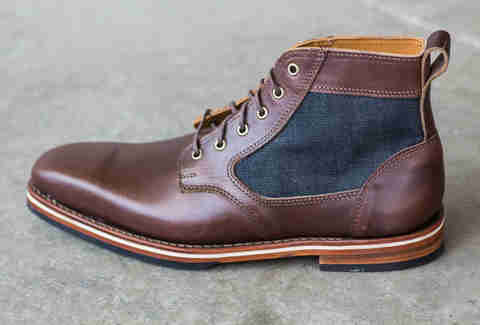 sam brown boot at HELM Boots