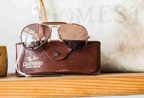ray ban aviators sam hill vintage