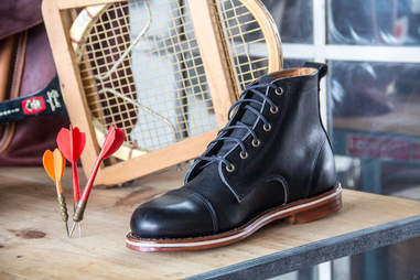 Black Muller Boots from HELM Boots