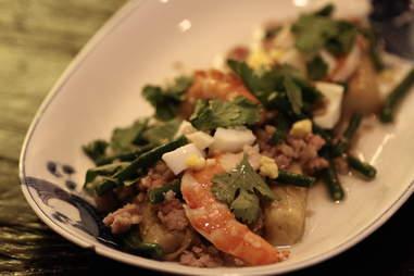 Fatty 'Cue shrimp salad