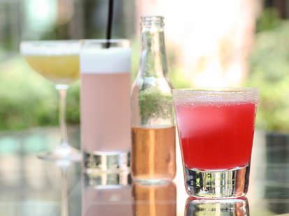 Cocktails at Bourbon Steak