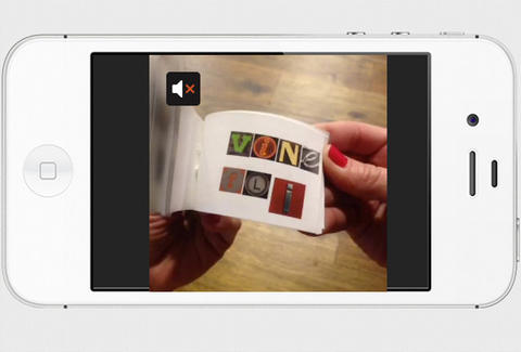 Still shot of flipbook being flipped