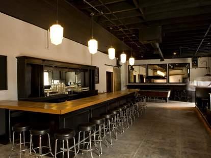 The bar at Little Joy, Echo Park