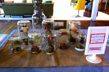 Mason Jar art pieces