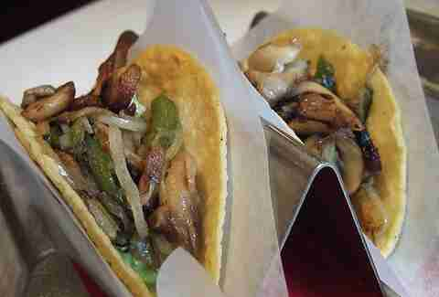 Tacos at Oyamel in Washington DC