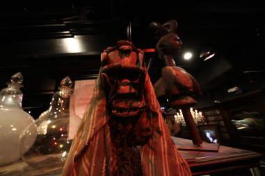 Jekyll & Hyde interior - weird mask