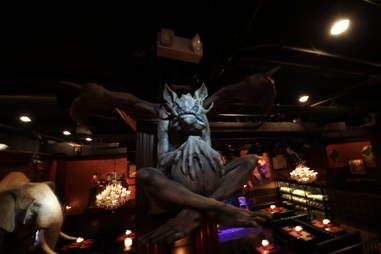 Jekyll & Hyde interior - gargoyle