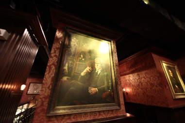Jekyll & Hyde interior - painting