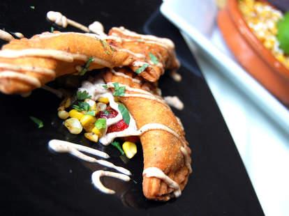 Empanadas at Nacional 27 restaurant