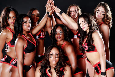 Atlanta Steam ladies football team