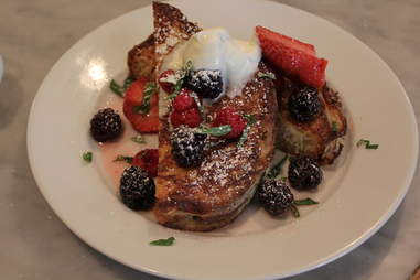 Brioche French toast at Pikey