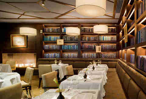 Library at L'Espalier
