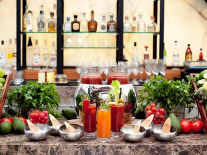 Brunch bloody Mary's