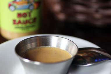 Hot Sauce at La Casa de Pedro