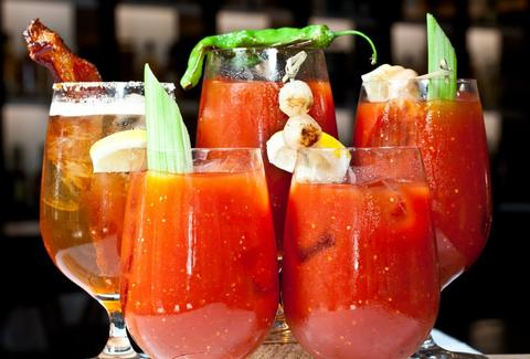 Brunch must: bloody mary's