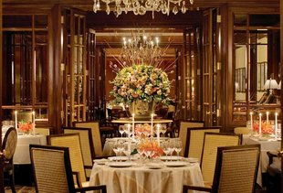Fountain Restaurant at the Four Seasons Hotel Philadelphia