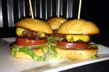 Cheeseburger sliders at Cactus Bar & Grill in The Loop