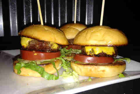 Cheeseburger sliders at Cactus Bar & Grill in The Loop