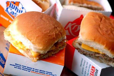 A 48-cent burger from White Castle
