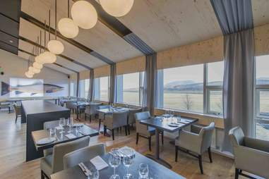 the restaurant at ION Iceland