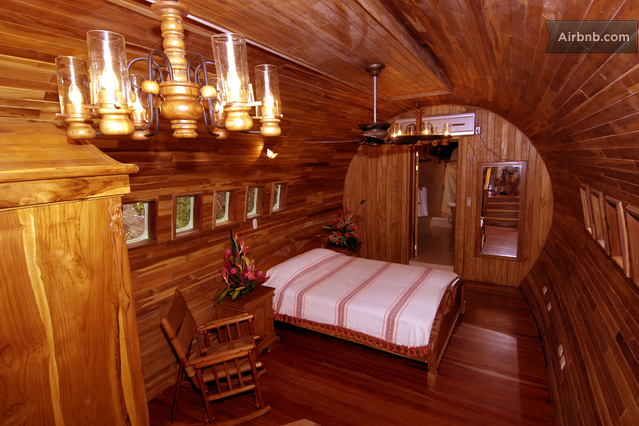 Freely move around this cabin